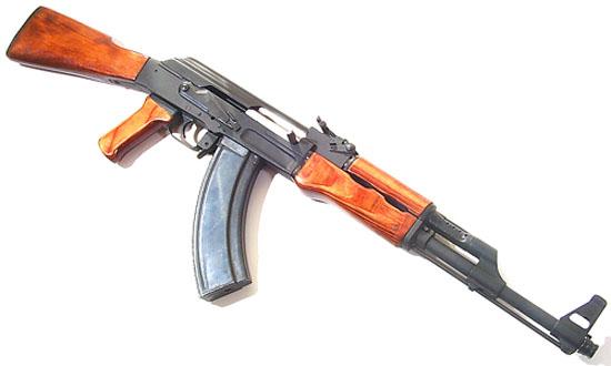 Útočná puška AK-47 - klikutím zvětšete